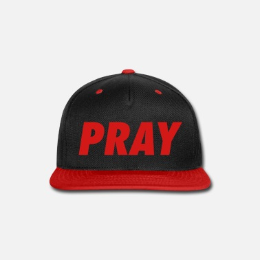Jesus PRAY - Snap-back Baseball Cap