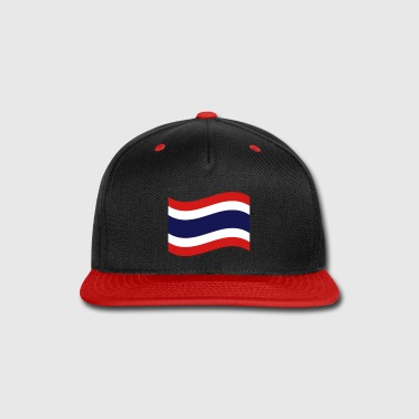 Thai Flag Wave - Snap-back Baseball Cap