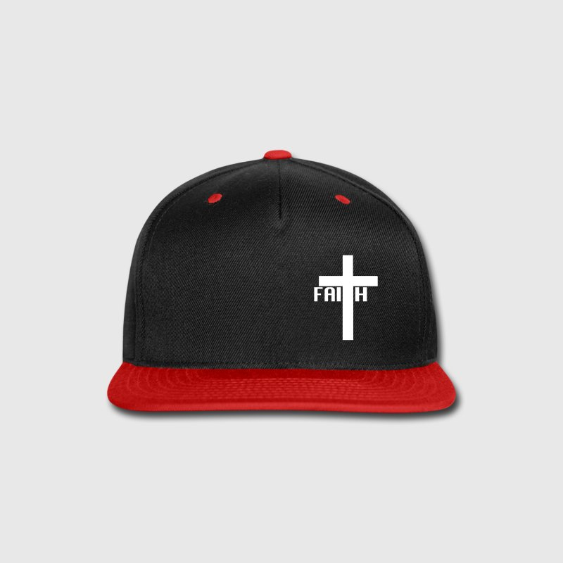 FAITH cross - Snap-back Baseball Cap