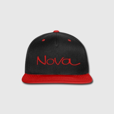 Chevy Nova script - Snap-back Baseball Cap