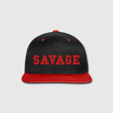 savage - Snap-back Baseball Cap