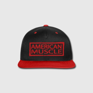 American Muscle  - Snap-back Baseball Cap