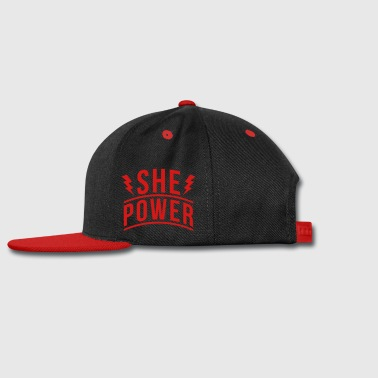 She Power - Snap-back Baseball Cap