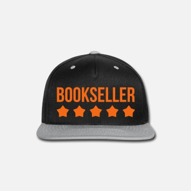 Bookseller - Reading - Culture - Library - Snapback Cap