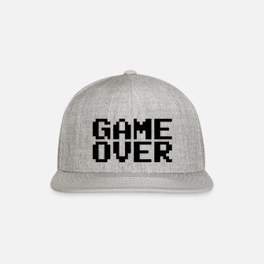 Deatchmatch Game Over Retro Pixel Design - Snapback Cap