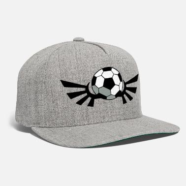 Inflated Oval SOCCER BALL football with AIRFORCE wings - Snapback Cap