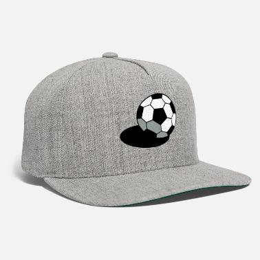 Pineapple And Soccer SOCCER FOOTBALL BALL WITH A SHADOW - Snapback Cap