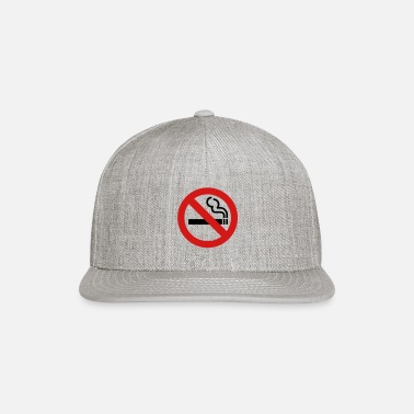 Smoking No Smoking - Snapback Cap
