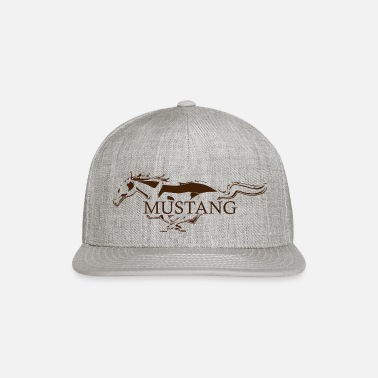 Best mustang brown - Snapback Cap
