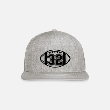 32 Football Vector 1_color TAS - Snapback Cap