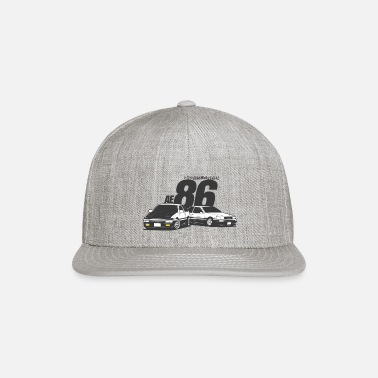 Initial D Initial D AE86 tofu delivery - Snapback Cap