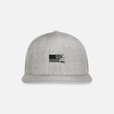 Flag Hunting and fishing american flag, american flag - Snapback Cap