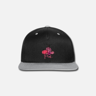 October In October We Wear Pink Pumpkin Breast Cancer Hall - Snapback Cap