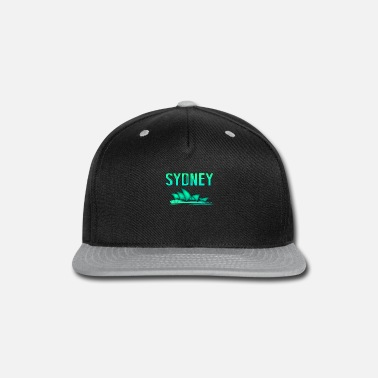 Open Sydney tourist or citizen gift - Snapback Cap