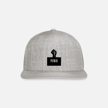 Black Power Raised Fist - Snapback Cap
