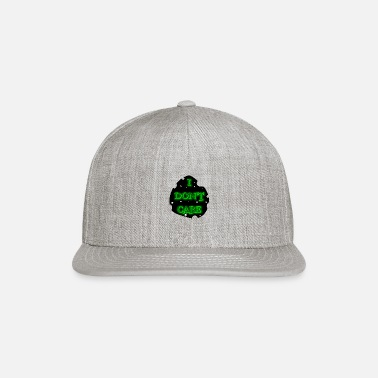 I DON T CARE IN GREEN - Snapback Cap