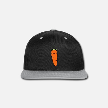 Carrot carrot with face carrot - Snapback Cap