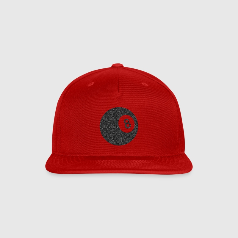 8 Ball - Snap-back Baseball Cap