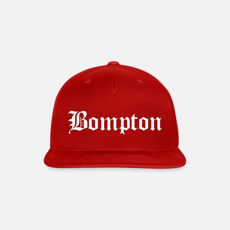 39199a17ce1 bompton Snapback Cap