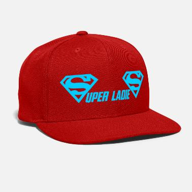 Super Woman super ladies - Snap-back Baseball Cap