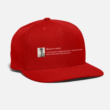 Communist Reality check: Stalin - Snapback Cap