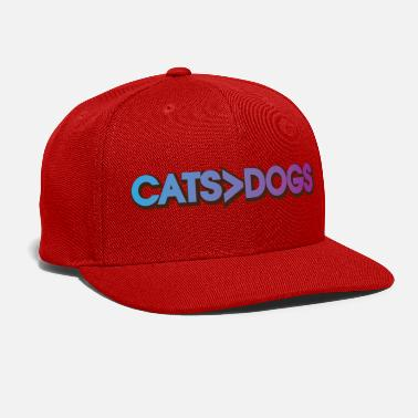Cats > Dogs - Snapback Cap