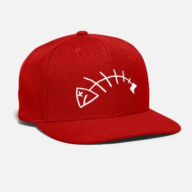 Fish Bone Fish Bones - Snap-back Baseball Cap
