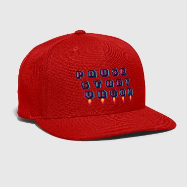 Pause Pause, Start, Vroom - Snap-back Baseball Cap