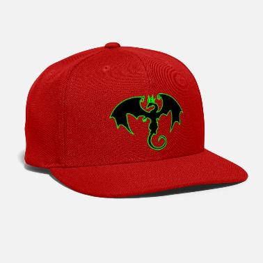 Dragon dragon - Snap-back Baseball Cap