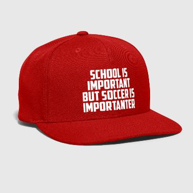 Stand school is important funny quote - Snap-back Baseball Cap