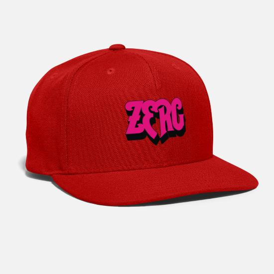 Game Caps - Zerg Rush - Snapback Cap red