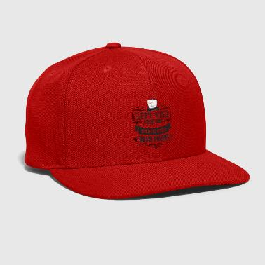 Right Wing Left Wing Right Wing Same Bird - Snap-back Baseball Cap