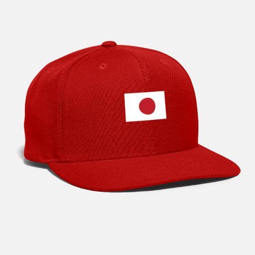 6cd942da2bb Flag of Japan Cool Japanese Flag Snapback Cap