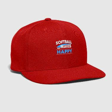 SOFTBALL - Snap-back Baseball Cap