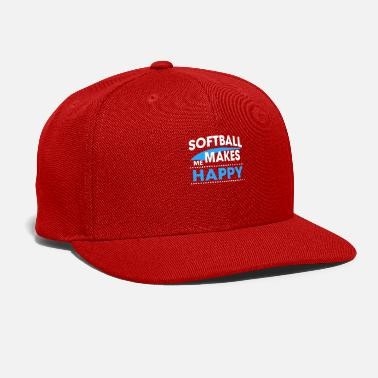 Softball SOFTBALL - Snap-back Baseball Cap
