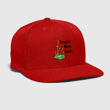 Rock Music Bagpipe Music Rocks - Snap-back Baseball Cap