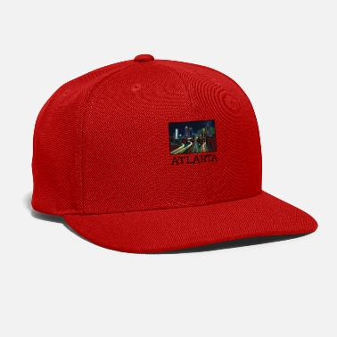 United Atlanta City Skyline USA US - Snap-back Baseball Cap