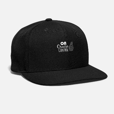 Goal On Cruise Control Pineapple Shirts | Camping - Snapback Cap