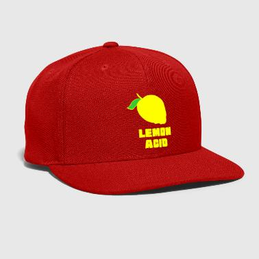 Acid House lemon acid - Snap-back Baseball Cap