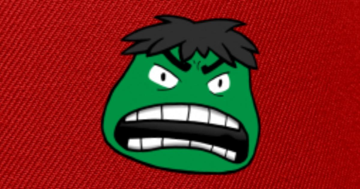 6defec2c6e08ec hulk face Snapback Cap | Spreadshirt