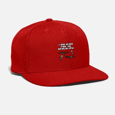 Pixelland Ready For The Apocalypse 8-Bit - Snapback Cap