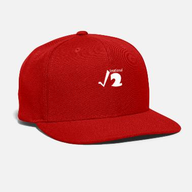 Number Irrational Numbers Mathematics - Snap-back Baseball Cap