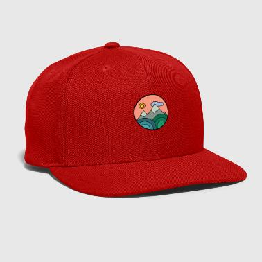 Vintage Mountains Colours - Snap-back Baseball Cap