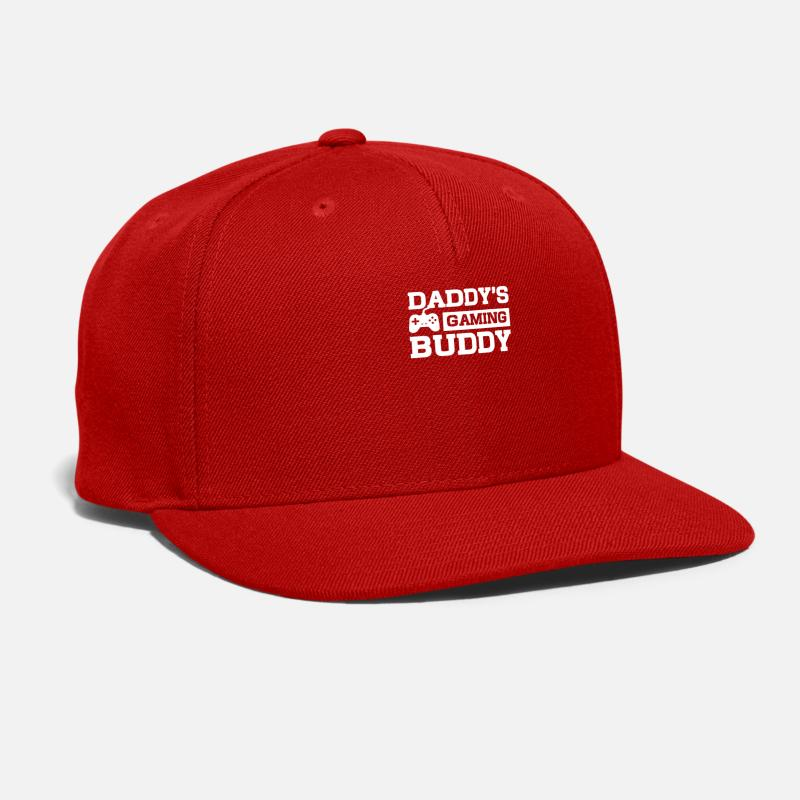 Friendship Caps - Daddy s Gaming - Snapback Cap red 379a36579270