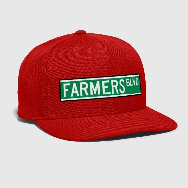 FARMERS BLVD SIGN - Snap-back Baseball Cap