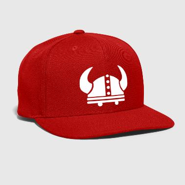 Viking helmet - Snap-back Baseball Cap