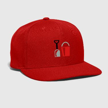 bucket and shovel - Snap-back Baseball Cap