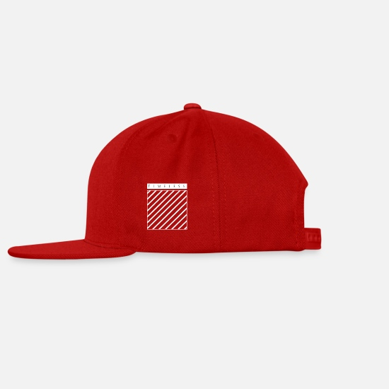 Symbol  Caps - Timeless Design T-Shirt For Artists - Snapback Cap red