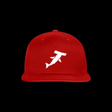 white shark - Snap-back Baseball Cap