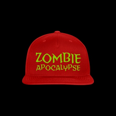 The Zombie Apocalypse is Coming! - Snap-back Baseball Cap